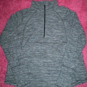 SIZE: PM-GRAY'S FLEECE ACTIVE PULLOVER-NEW/NO TAGS